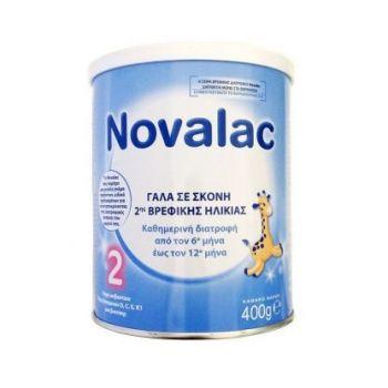 Novalac-Γάλα-2ης-Βρεφικής-Ηλικίας-Από-Τον-6ο-Μήνα-Novalac-2-400-Gr