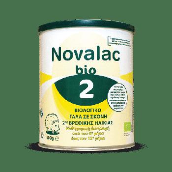 Novalac Bio 2 Βιολογικό Γάλα σε Σκόνη 2ης Βρεφικής Ηλικίας 400γρ