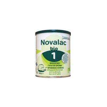 Novalac Bio 1 Βιολογικό Γάλα σε Σκόνη 1ης Βρεφικής Ηλικίας 400γρ