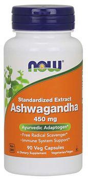 Now Foods Ashwagandha Extract 450 mg 90v.caps
