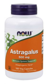 Now Foods Astragalus 500mg 100caps