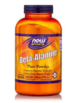 Now Foods Beta-Alanine Powder (100% Pure) Vegetarian 500gr