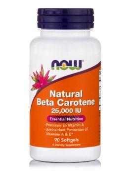 Now foods Beta Carotene Natural 90softgels