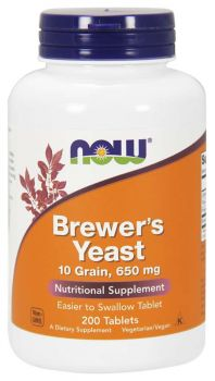 Now Foods Brewer's Yeast 650mg 200veg.tabs