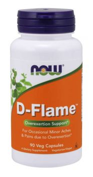 Now Foods D-Flame 90 veg.caps