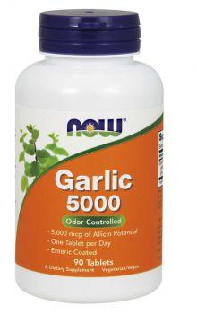 Now Foods Garlic 5000mcg 90tabs