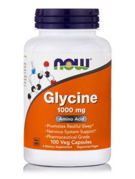 Now Foods Glycine 1000mg 100caps