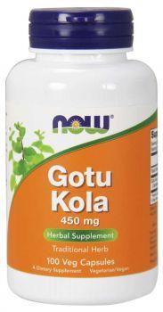 Now Foods Gotu Kola 450mg 100caps