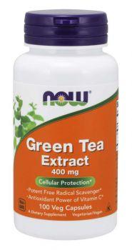 Now Foods Green Tea Extract 400mg 100caps