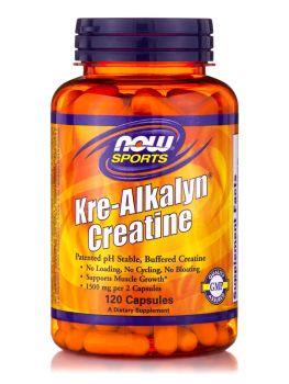Now Foods Kre-Alkalyn Creatine 120 caps