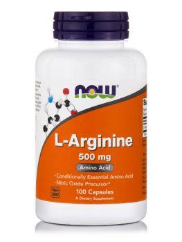 Now Foods L-Arginine 500mg 100caps
