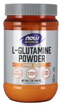 Now Foods L-Glutamine Pure Powder Vegetarian 454gr