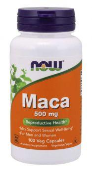 Now Foods Maca 500mg 100caps