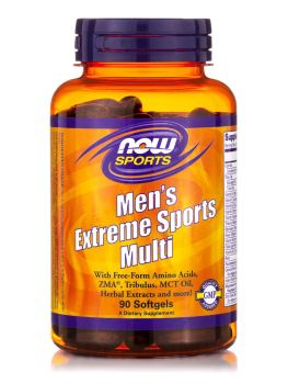 Now Foods Men's Extreme Sports Multi 90softgels