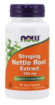 Now Foods Nettle Root Extract 250mg 90veg.caps