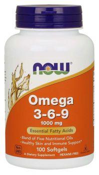 Now Foods Omega-3-6-9 1000mg 100softgels