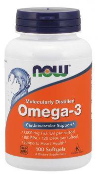 Now Foods Omega-3 1000mg 100softgels