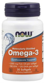 Now Foods Omega-3 1000mg 30softgels