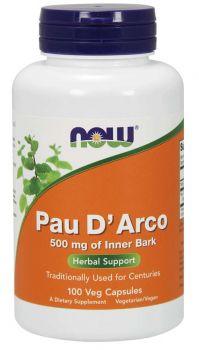 Now Foods Pau D' Arco 500mg 100caps