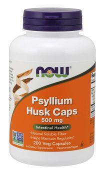 Now Foods Psyllium Husks 500mg 200caps