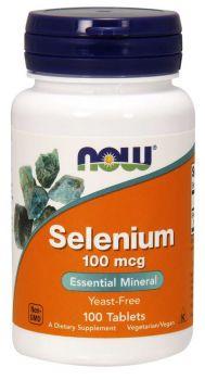 Now foods Selenium 100mcg 100veg.tabs