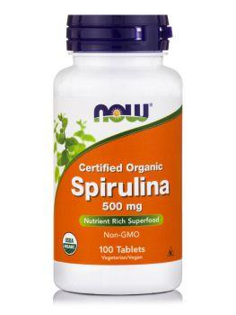 Now Foods Spirulina 500mg 100veg.tabs