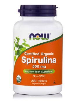 Now Foods Spirulina 500mg 200veg.tabs