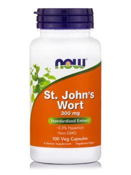 Now Foods St. John's Wort Extract 300 mg 100 veg.caps