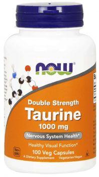 Now Foods Taurine 1000Mg 100Caps