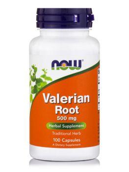 Now Foods Valerian Root 500 mg 100 caps