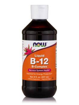 Now Foods Vitamin B12 Complex Liquid Vegetarian 228gr