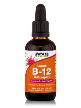Now Foods Vitamin B12 Complex Liquid Vegetarian 59,2 ml