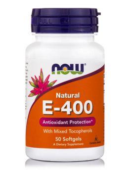 Now foods Vitamin E 400 IU Mixed Tocopherols Unsterified 50 Softgels