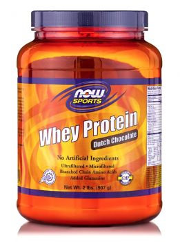 Now Foods Whey Protein Chocolate 2 lb