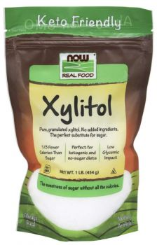 Now Foods Xylitol Pure 454gr