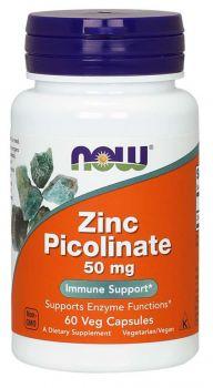 Now foods Zinc Picolinate 50mg 60caps