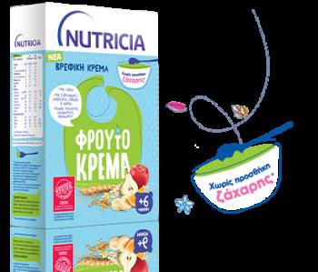 Nutricia Φρουτόκρεμα 250gr