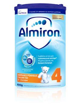 Nutricia Almiron 4 Γάλα 4ης Βρεφικής Ηλικίας Για Νήπια Από 2-3 Ετών  800gr