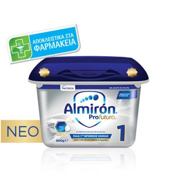 Nutricia Almiron Profutura 1 Γάλα 1ης Βρεφικής Ηλικίας Για Βρέφη Από 0-6 Μηνών 800gr