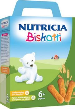 Nutricia Biskotti Βρεφικά Μπισκότα 180gr