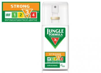 Omega Pharma Jungle Formula Strong Soft Care Άοσμο με IRF 3 75ml