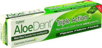 Optima Aloe Dent Aloe Vera Toothpaste Triple Action 100ml