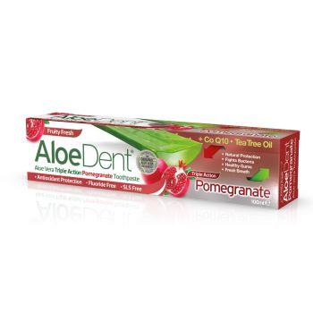Optima Aloe Dent Triple Action Pomegranate 100ml