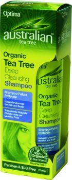 Optima Australian Organic Tea Tree Deep Cleansing Shampoo 250 ml