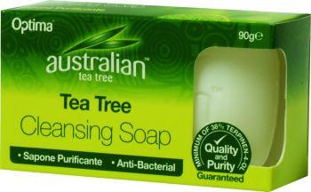 Optima Australian Tea Tree Antiseptic Cleansing Soap 90 gr