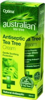Optima Australian Tea Tree Antiseptic Cream 50 ml
