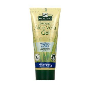 Optima Organic Aloe Vera Gel with Vitamin A,C & E 200 ml