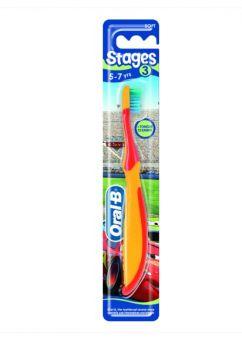 Oral B Οδοντόβουρτσα Παιδική Παιδική 3-5 χρονών  Stages3  1τμχ