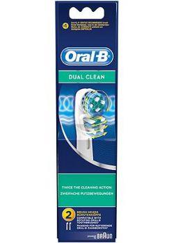 Oral B Ανταλλακτικά Dual Clean 2τμχ