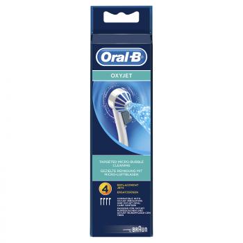 Oral B Nozzle Set Oxyjet Ανταλλακτικά 4τμχ